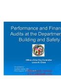 Performance and Financial Audits at the Department of Building and Safety_part1
