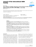 """báo cáo hóa học:""""  The adequacy of policy responses to the treatment needs of South Africans living with HIV (1999-2008): a case study"""""""