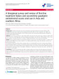 "báo cáo hóa học:"" A biregional survey and review of first-line treatment failure and second-line paediatric antiretroviral access and use in Asia and southern Africa"""