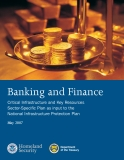 Banking and Finance Critical Infrastructure and Key Resources Sector-Specific Plan