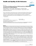 "báo cáo hóa học:""  The Warwick-Edinburgh Mental Well-being Scale (WEMWBS): development and UK validation"""