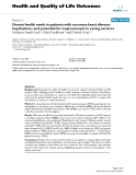 Health and Quality of Life Outcomes BioMed Central  Research  Open Access  Unmet health needs in