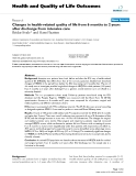 Health and Quality of Life Outcomes BioMed Central  Research  Open Access  Changes in health-related