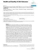Health and Quality of Life Outcomes BioMed Central  Research  Open Access  A population-based study