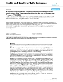 Health and Quality of Life Outcomes BioMed Central  Research  Open Access  A new measure of patient