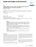 Health and Quality of Life Outcomes BioMed Central  Research  Open Access  Using multiple survey