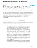 Health & Quality of Life Outcomes BioMed Central  Research  Open Access  Health related quality of
