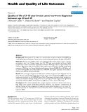 Health and Quality of Life Outcomes BioMed Central  Research  Open Access  Quality of life of 5–10