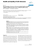 "báo cáo hóa học:"" Decomposition of sources of income-related health inequality applied on SF-36 summary scores: a Danish health survey"""