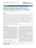 """Báo cáo toán học: """" Real-time reliability measure-driven multihypothesis tracking using 2D and 3D features"""""""