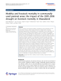 "Báo cáo hóa học: ""   Mobility and livestock mortality in communally used pastoral areas: the impact of the 2005-2006 drought on livestock mortality in Maasailand"""