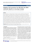 "Báo cáo hóa học: ""Adaptive QoS provision for IEEE 802.16e BWA networks based on cross-layer design"""