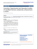 "báo cáo hóa học: "" Correction: Experimental and theoretical studies of nanofluid thermal conductivity enhancement: a review"""