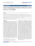 """Báo cáo hóa học: """"ZnSe nanotrenches: formation mechanism and its role as a 1D template"""""""