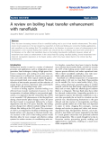 "Báo cáo hóa học: ""A review on boiling heat transfer enhancement with nanofluids"""