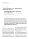 "Báo cáo hóa học: ""   Research Article Towards a Collision-Free WLAN: Dynamic Parameter Adjustment in CSMA/E2CA"""
