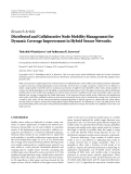 "Báo cáo hóa học: ""   Research Article Distributed and Collaborative Node Mobility Management for Dynamic Coverage Improvement in Hybrid Sensor Networks"""