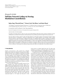"Báo cáo hóa học: "" Research Article Full Rate Network Coding via Nesting Modulation Constellations"""