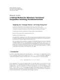 "Báo cáo hóa học: "" Research Article A Hybrid Method for Monotone Variational Inequalities Involving Pseudocontractions Yonghong Yao,1 Giuseppe Marino,2 and Yeong-Cheng Liou3"""