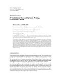 """Báo cáo hóa học: """" Research Article A Variational Inequality from Pricing Convertible Bond"""""""