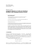 """Báo cáo hóa học: """" Research Article Asymptotic Behavior of a Discrete Nonlinear Oscillator with Damping Dynamical System"""""""