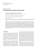 """Báo cáo hóa học: """" Research Article Fixed-Point MAP Decoding of Channel Codes"""""""