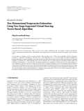 "Báo cáo hóa học: "" Research Article Two-Dimensional Frequencies Estimation Using Two-Stage Separated Virtual Steering Vector-Based Algorithm"""