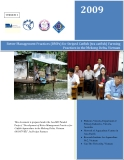 "Báo cáo khoa học nông nghiệp "" Better Management Practices (BMPs) for Striped Catfish (tra cat fish) Farming Practices in the Mekong Delta, Vietnam """