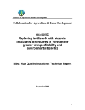Báo cáo khoa học nông nghiệp: Replacing fertiliser N with rhizobial inoculants for legumes in Vietnam for greater farm profitability and environmental benefits (MS6)