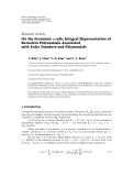 Hindawi Publishing Corporation Journal of Inequalities and Applications Volume 2010, Article ID