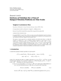 Hindawi Publishing Corporation Advances in Difference Equations Volume 2010, Article ID 727486, 27