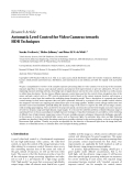 Hindawi Publishing Corporation EURASIP Journal on Image and Video Processing Volume 2010, Article ID