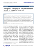 Grunwald and Rösch Energy, Sustainability and Society 2011, 1:3