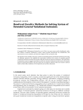 """Báo cáo hóa học: """"  Research Article Resolvent Iterative Methods for Solving System of Extended General Variational Inclusions"""""""