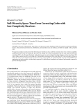 "Báo cáo hóa học: ""  Research Article Full-Diversity Space-Time Error Correcting Codes with Low-Complexity Receivers Mohamad Sayed Hassan and Karine Amis"""