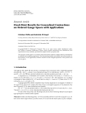 "Báo cáo hóa học: ""  Research Article Fixed-Point Results for Generalized Contractions on Ordered Gauge Spaces with Applications"""