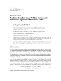 "Báo cáo hóa học: ""  Research Article Nonlocal Boundary Value Problem for Impulsive Differential Equations of Fractional Order"""