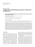 "Báo cáo hóa học: ""  Research Article An MPSoC-Based QAM Modulation Architecture with Run-Time Load-Balancing"""