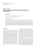 """Báo cáo hóa học: """"  Research Article Physically Motivated Environmental Sound Synthesis for Virtual Worlds"""""""