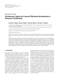 "Báo cáo hóa học: ""  Research Article Evolutionary Splines for Cepstral Filterbank Optimization in Phoneme Classification"""