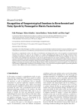 "Báo cáo hóa học: ""  Research Article Recognition of Nonprototypical Emotions in Reverberated and Noisy Speech by Nonnegative Matrix Factorization"""