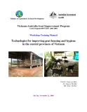 "Workshop  Training Manual: "" Technologies for improving goat housing and hygiene in the central provinces of Vietnam """