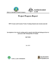 "Card Project Progress Report: Investigation of rice kernel cracking and its control in the field and during post-harvest processes in the Mekong Delta of Vietnam "" MS7"