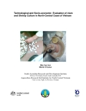 Technological and Socio-economic Evaluation of clam and Shrimp Culture in North-Central Coast of Vietnam