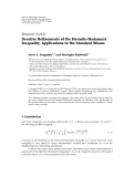 "Báo cáo hóa học: ""  Research Article Iterative Refinements of the Hermite-Hadamard Inequality, Applications to the Standard Means"""