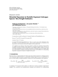 """Báo cáo hóa học: """"  Research Article Potential Operators in Variable Exponent Lebesgue Spaces: Two-Weight Estimates"""""""