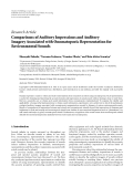 "Báo cáo hóa học: ""  Research Article Comparisons of Auditory Impressions and Auditory Imagery Associated with Onomatopoeic Representation for Environmental Sounds"""