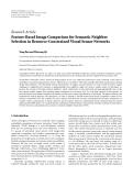 "Báo cáo hóa học: ""  Research Article Feature-Based Image Comparison for Semantic Neighbor Selection in Resource-Constrained Visual Sensor Networks"""