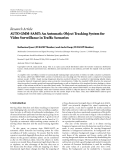 """Báo cáo hóa học: """"  Research Article AUTO GMM-SAMT: An Automatic Object Tracking System for Video Surveillance in Traffic Scenarios"""""""