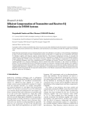"Báo cáo hóa học: ""  Research Article Efficient Compensation of Transmitter and Receiver IQ Imbalance in OFDM Systems"""